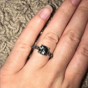 Fake diamond ring
